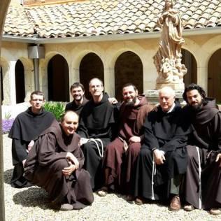 La communauté de Narbonne et nos frères de passage.