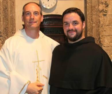 Fr. François - Xavier et fr. Samuel - Marie.
