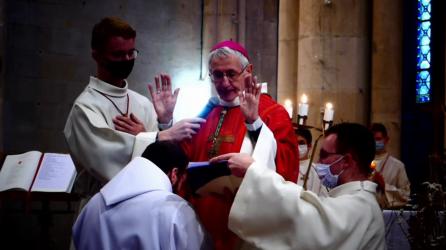Prière d'ordination prononcée par Mgr. Delmas