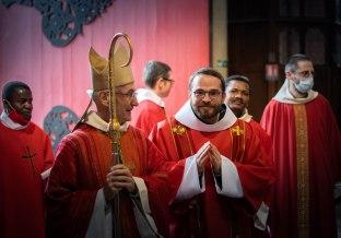 Mgr. Delmas et fr. Jérémie-Marie