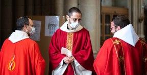 Fr. Adrien, et fr. Jérémie-Marie
