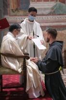 Profession de fr. Gabriel